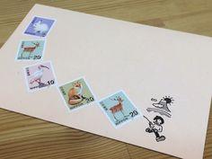 皆様へ【切手のこびと】をお届けする際には箱に切手を貼って(もちろんこびとも一緒です)定形外郵便にてお届けしています。通常、切手は1枚か一番少なくすむ枚数を貼っ...