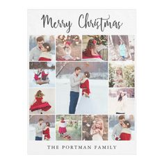Trendy Multi Photo Collage Merry Christmas Blanket - merry christmas diy xmas present gift idea family holidays Photo Collage Canvas, Multi Photo, Vacation Pictures, Kids Gifts, Family Gifts, Simple Gifts, Customized Gifts, Merry Christmas, Christmas Decor