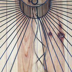 Cette suspension homemade est partie de la profonde admiration que j'ai pour celle de Constance Guisset, la Vertigo. J'ai fini par me lancer le défi de m'en inspirer pour en réaliser une moi-même, avec mes petits doigts et mon petit matériel de bricolgirl. Voici comment je m'y suis prise.