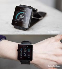 The Garmin vivoactive.