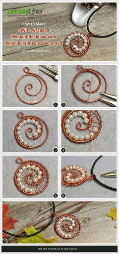 11 wiring wrapping diy jewelry - YS Edu Sky #wirejewelry