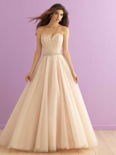New Bridal Gown Available at Ella Park Bridal | Newburgh, IN | 812.853.1800 | Allure Romance - Style 2915