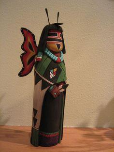 Hopi Butterfly Maiden kachina doll