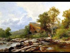 DAVID BATES -1840 - 1921- ENGLISH PAINTER- A C  -