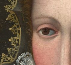 a closer look reveals the details | follower of bronzino - portrait of a lady detail #art #painting