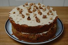Carrot cake made by my Dad