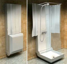 small stand up shower ideas | Small Shower Bathroom for Limited Space | Home Conceptor