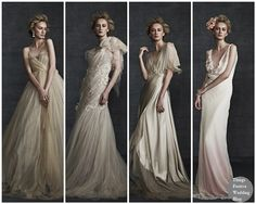 Couture Bridal Gowns - English Styling Meets Post-Punk Romanticism