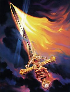 Sword Of The Spirit Painting  - Sword Of The Spirit Fine Art Print