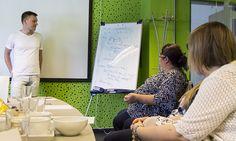 Szoftverfejlesztő OKJ tanfolyamunk résztvevővel a hazai IT meghatározó fejlesztő cégénél jártunk.