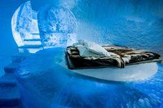 Suécia abre primeiro hotel de gelo permanente do mundo