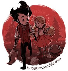 Cosplay: Wendy from Don't Starve (feat Wilson)