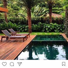 """1,773 curtidas, 16 comentários - Fernanda Marques  - Arquiteta (@fernandamarquesarquiteta) no Instagram: """"#Repost @soninhavilela ・・・ Desejo do dia! Chaises @macmoveissaopaulo projeto…"""""""
