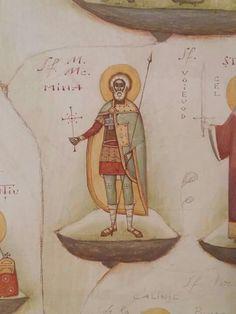 Romanian-by Gabriel Toma Chituc~~~ Byzantine Art, Orthodox Icons, Gabriel, Artwork, Saints, Pictures, Modern, Art Work, Santos