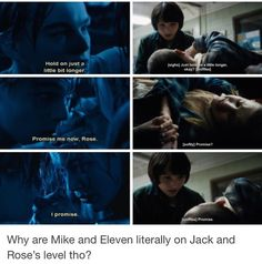"""3,698 Likes, 56 Comments - stranger things everything (@tubular.wheeler) on Instagram: """"NONONONONONO THEY WILL NEVER BE LIKE JACK AND ROSE BC MILEVEN IS ENDGAME AND THEY WILL GROW OLD…"""""""