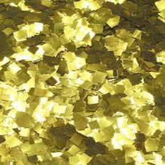 Gold Diamond Confetti ordered in addition to bright assorted colors