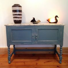 Marble Top Rustic Shabby Chic Side Cupboard by CaribouofCornwall on Etsy Cupboard, Cabinet, Rustic Shabby Chic, Objet D'art, Marble Top, Entryway Tables, Etsy Shop, Cornwall, Storage