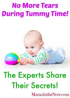 No more tears during tummy time! Get the inside scoop from pediatric OT and PT specialists for how to make this essential time happier.