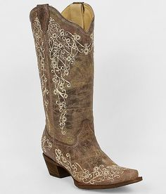 Corral Embroidered Cowboy Boot http://www.cowgirlclad.com #cowgirlclad #niceboots