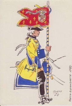 Dragones de Numancia 1737 Portaguión