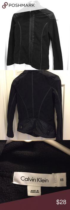 Active wear jacket Cute black running/workout jacket Calvin Klein Jackets & Coats