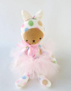 Ballerina Eva in a pink tutu