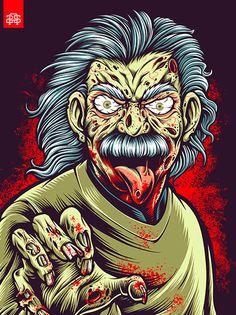 Mad Scientist Zombie