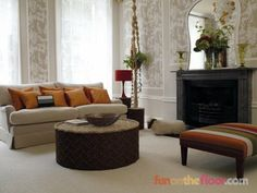 Beautiful Carpeted Rooms!   Decorology