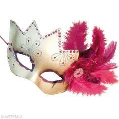 Décorer un masque de Venise pour Carnaval