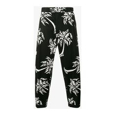 Dolce & Gabbana palm tree print cropped trousers (23 620 UAH) ❤ liked on Polyvore featuring men's fashion, men's clothing, men's pants, men's casual pants, men's relaxed fit pants, dolce gabbana mens pants, mens cropped pants, mens beach pants and mens summer pants