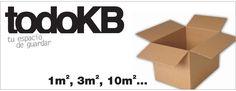 www.todokb.com Alquiler temporal de trasteros y almacenes en Pamplona desde 1m. Tienda de venta de cajas y material tanto para embalaje como para mudanzas.