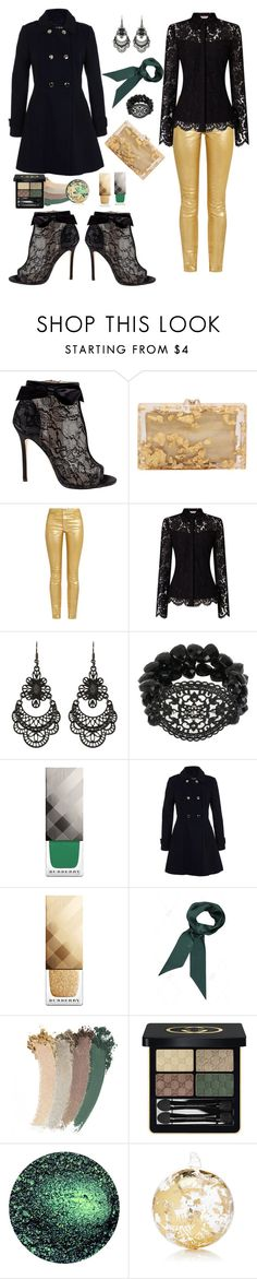 """""""Untitled #170"""" by whatisshewearing ❤ liked on Polyvore featuring Belle by Badgley Mischka, Charlotte Olympia, Étoile Isabel Marant, Free Press, Mixit, Burberry, Miss Selfridge, Gucci and Winward"""