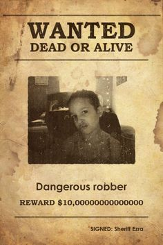 I am wanted
