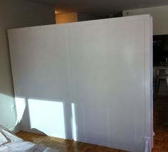 The Room Partition - temporary walls - room dividers - pressurized walls - wall company - temporary wall - pressurized wall - wall divider Freestanding Room Divider, Room Diy, Walls Room, Room Partition, Free Standing Wall, Bamboo Room Divider