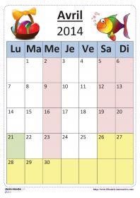 Plusieurs versions du calendrier scolaire 2013-2014 pour un affichage en classe.