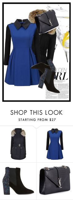 """""""Sin título #459"""" by sophia-r-131312 ❤ liked on Polyvore featuring K100 Karrimor, WithChic, Dune, Yves Saint Laurent and Murphy"""