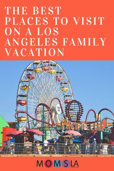 10 Great Ideas For A Los Angeles Family Vacation Los Angeles Vacation, Los Angeles Travel, La With Kids, Unique Valentines Day Ideas, Los Angeles With Kids, Haunted Hayride, Visit Los Angeles, Los Angeles Neighborhoods, Travel
