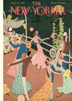 The New Yorker - Saturday, September 20, 1930 - Issue # 292 - Vol. 6 - N° 31 - Cover by : Theodore G. Haupt
