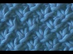 Flat Knot or Star Stitch Scarf ~ another example of a different name for a stitch. in this case also called the Flat Knot stitch.