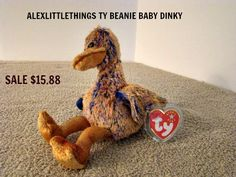 11f38be1385 Ty Beanie Baby Dinky NWT Do do Bird 2000 Duck Online Friends