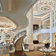 So opulent and grand! Via @spackle_and_sparkle 💕 Double tap and #tagafriend if you want to live here. 😊💋 Follow 👉 @homemagez Follow 👉 @homemagez 🌇 #decor #instadesign #instahome #instagood #interiordesign #homesweethome #inspiration #decorations #ceiling #style #builder #lifestyle #chandelier #lifeforlike #mansion #followforfollow #homedecor #staging #homelovers #modern #estate #luxury #architecture #hogar #homedesign #realestate #molding