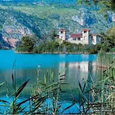 This is Lake Caiaphas, located in Greece in ancient Olympia Beautiful Places To Visit, Beautiful World, Beautiful Images, Places To See, Amazing Places, Places Around The World, Around The Worlds, Travel Memories, Vacation Places