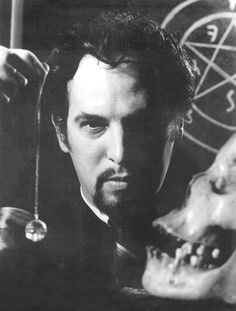 """Anton LaVey (1930-1997), American writer, occultist, and musician who founded the Church of Satan and was the author of The Satanic Bible.  He proclaimed 1966 as """"the year one"""", Anno Satanas—the first year of the Age of Satan."""