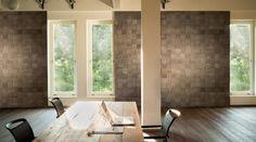 Dekorativní dřevěné obklady stěn Mardegan, BOCA Praha. / Decorative wooden wall panels Mardegan. Praha, Wall, Italy