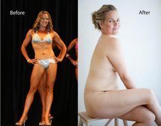 From bodybuilder to a curvy proud woman who loves herself and not her body                                           Da bodybuilder a donna con le curve: la storia di Taryn e dell'amore per il suo nuovo corpo