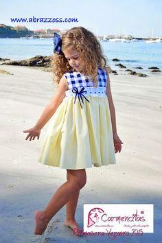 Vestido niña de verano.                                                                                                                                                                                 Más