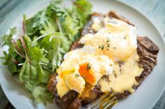 Check out this paleo eggs benedict recipe from Dr. Gustin of The Paleo Fix! This breakfast staple is made paleo with steak! Enjoy this paleo eggs benedict!