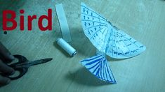 How to make a string guided flying bird