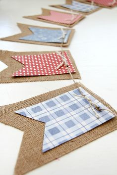 With only a few more weeks until the 4th of July, it's time to start planning your celebrations. Hi, it's Tonya again and I'm sharing a simple do-it-yourself banner that's perfect for hanging above your food station, on your mantel, or along the windows to decorate your home this 4th of July. Supplies needed: burlap …