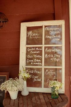 Great menu board outside restaurant or at party. Could work as message board outside any retail establishment, too.